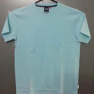 2. Mens T-shirt Round Neck - solid dyed