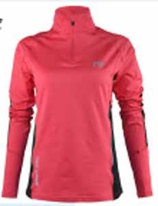 Womens Long Sleeve Polo Shirt